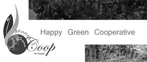 happy green cop
